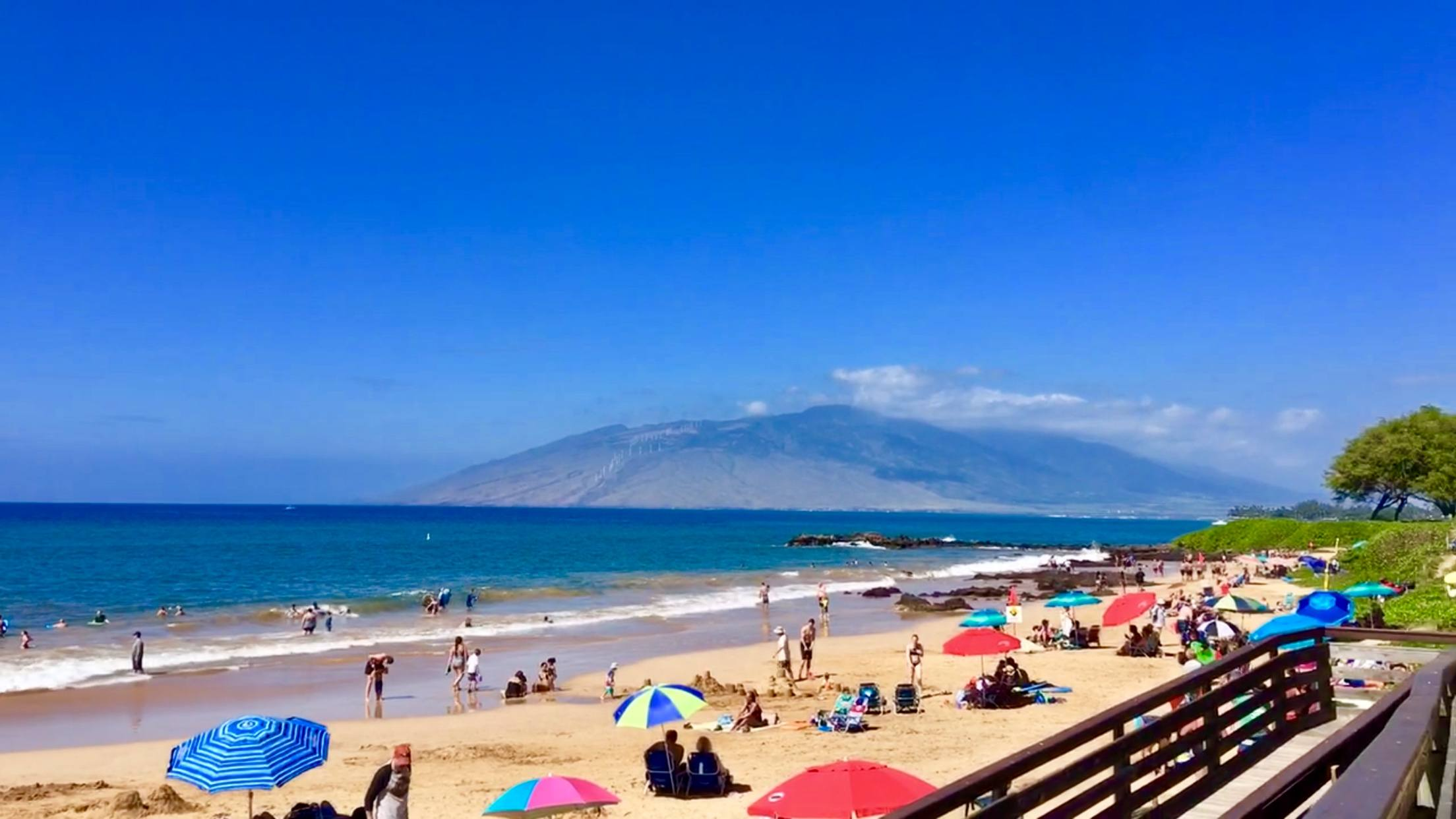 visit Kamaole Beach III when living in kihei maui