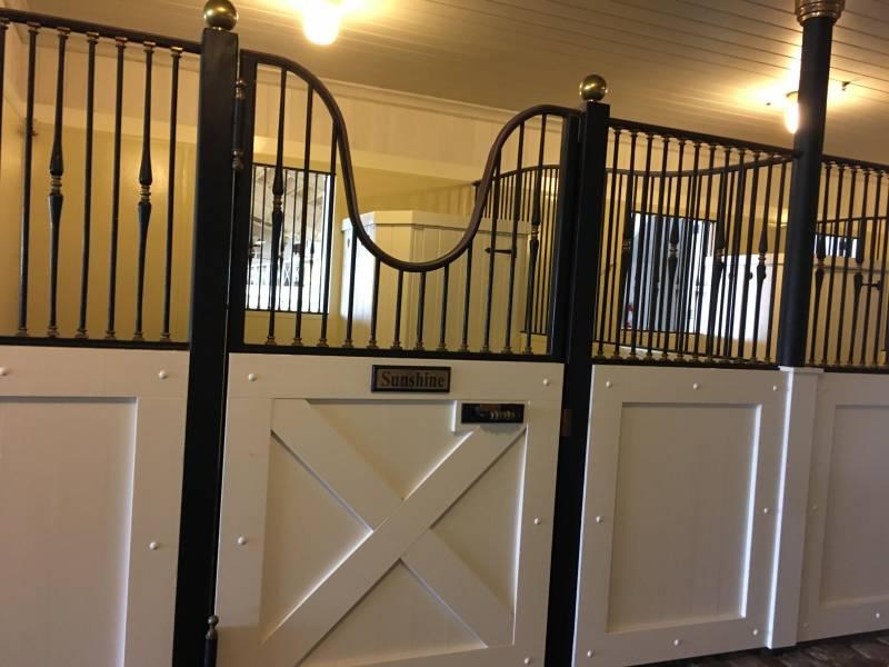 Stalls in kohala ranch horse property