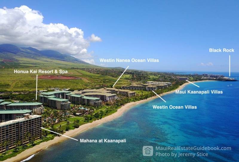 Kaanapali North Beach Overview