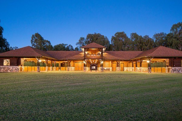 luxury barn at Waikii Ranch