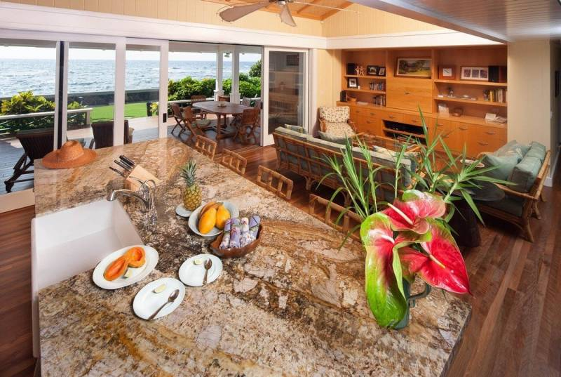 Puako oceanfront home for sale