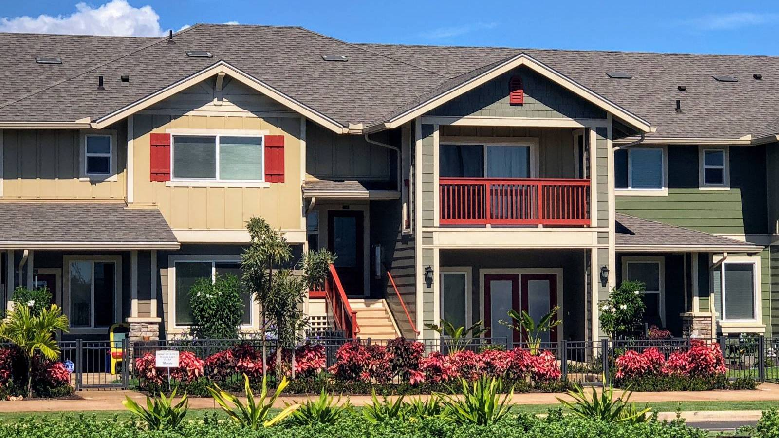 townhome at Hoopili