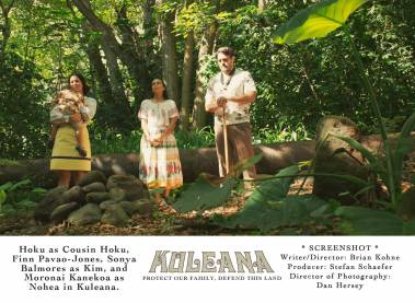 Burial scene Kuleana movie
