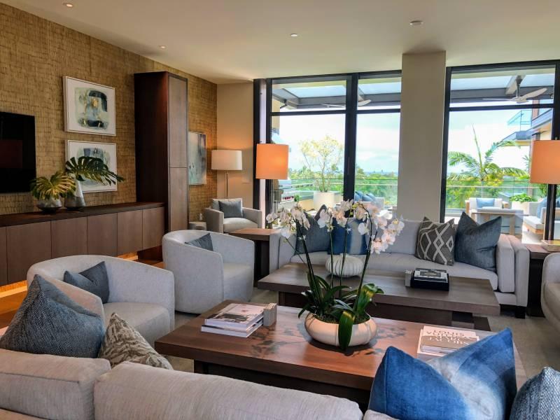 Park Lane living room