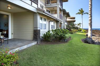 Halii Kai oceanfront buildings