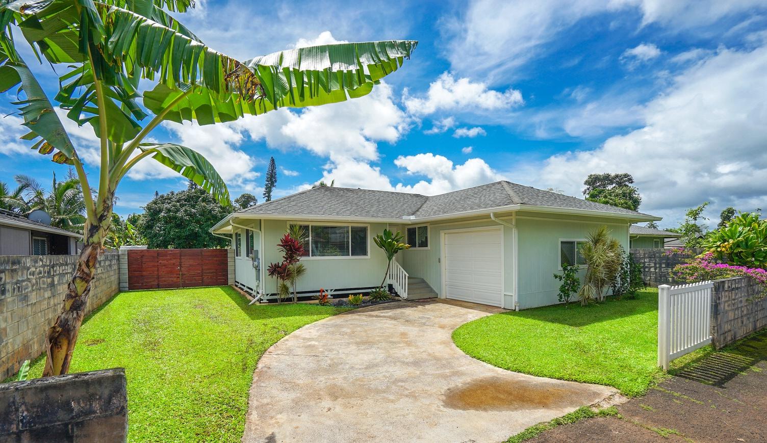 Kauai immaculate 3bd 2ba home in wailua homesteads for Kauai life real estate