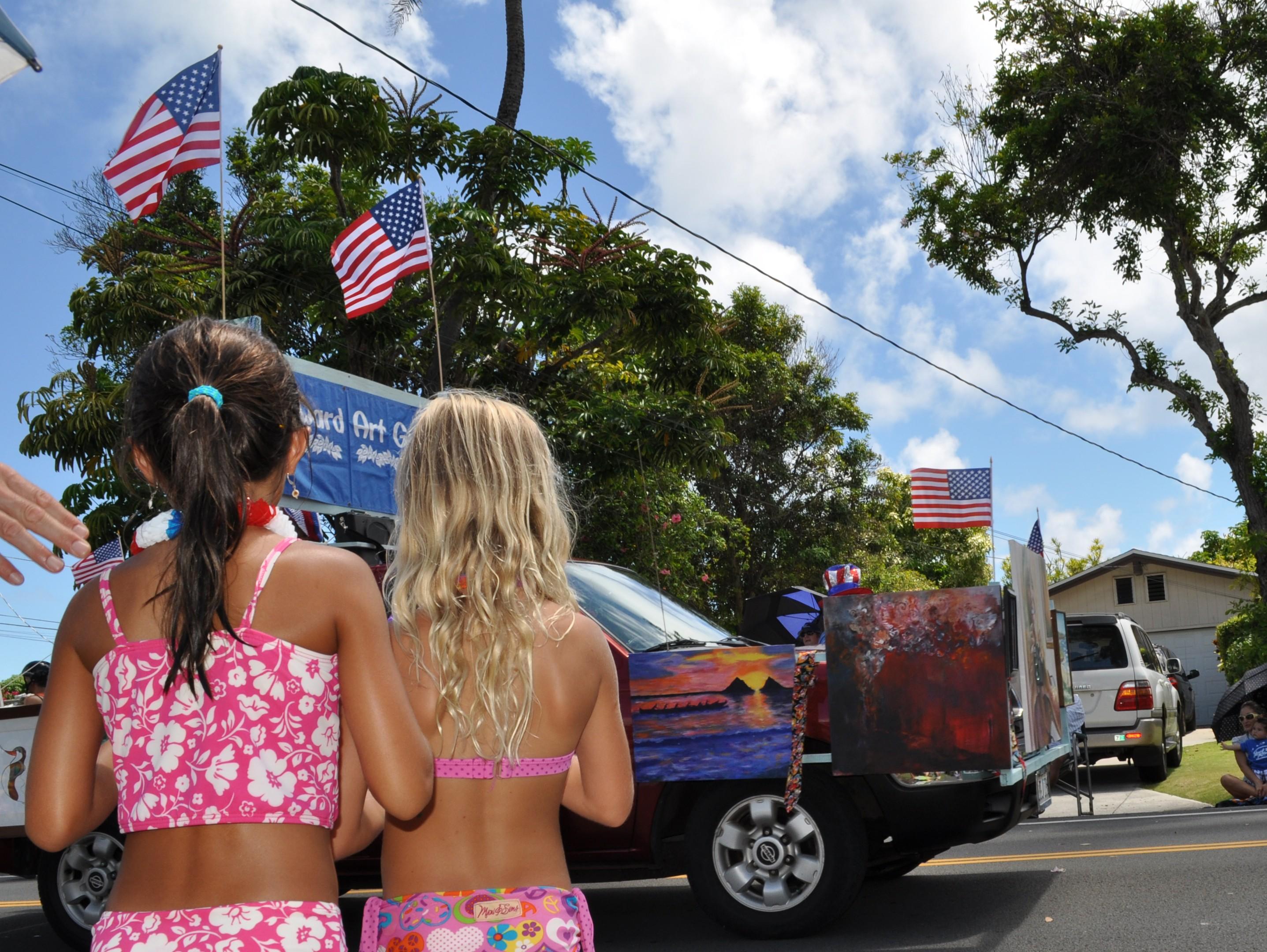 Kailua 4th July parade