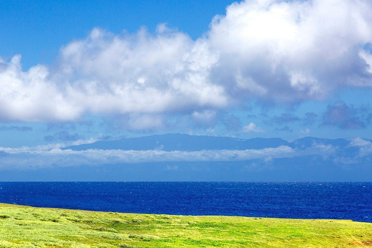 Maui view from Hoea Road