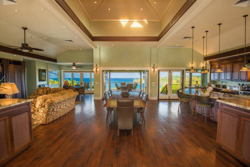 A central Great Room is ideal for entertaining.