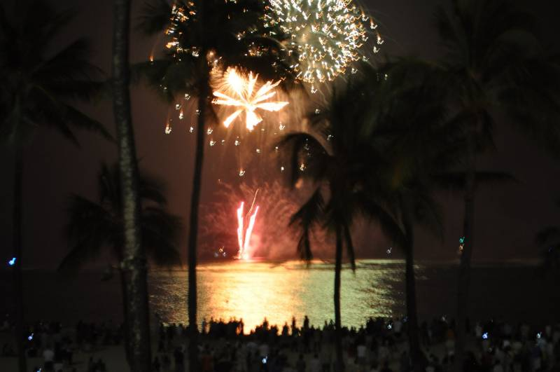 Kailua 4th of July Fireworks