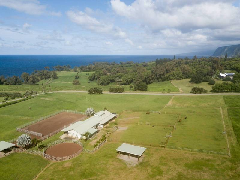 equestrian property with oceanfront access