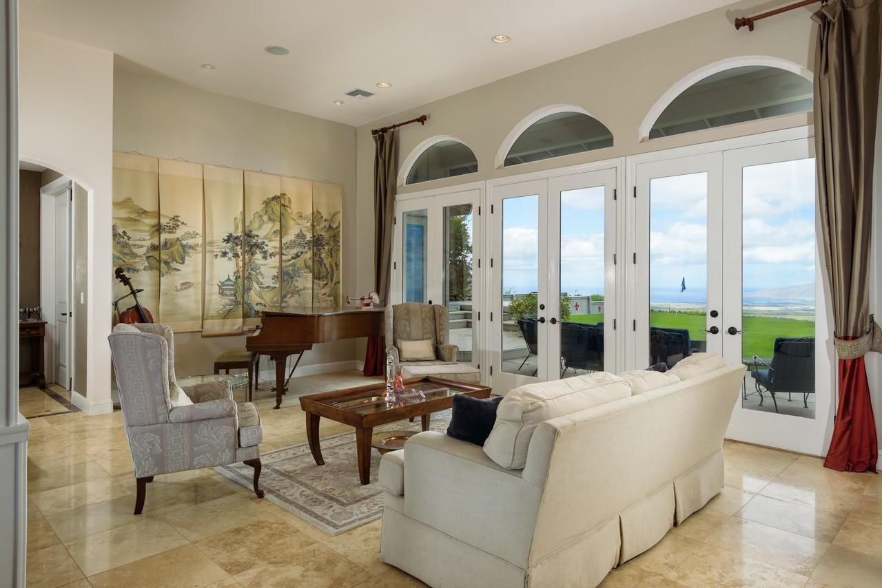 Living Room with Bi-costal Views