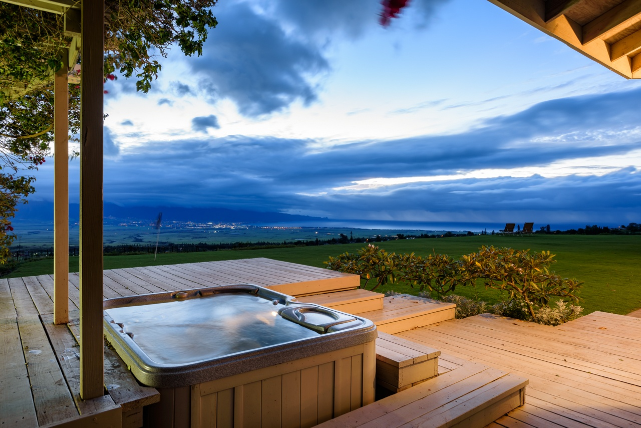 Jacuzzi with a View