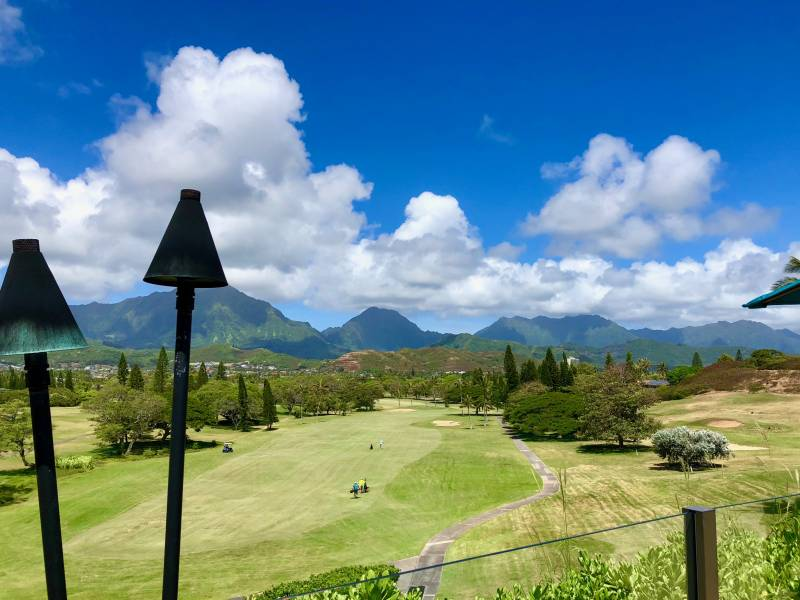 mid-pacific golf course in lanikai kailua