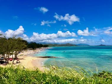 Kailua Bay & Kailua Beach
