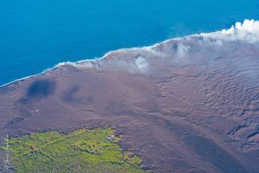 Lava covers Kapoho and Vacationland