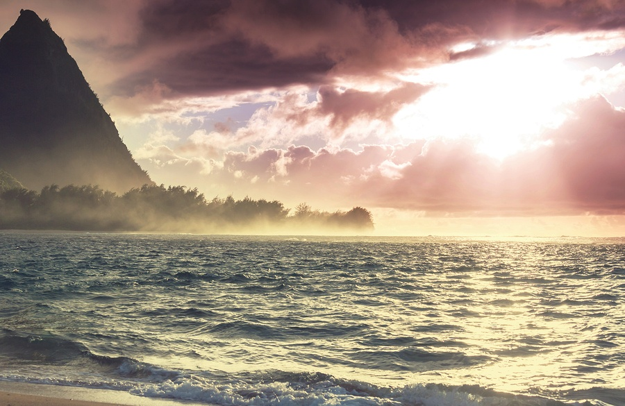 Affluent Living Tunnels Beach on Kauai's Majestic North Shore