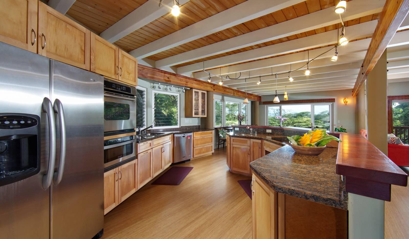 Kitchen at The Banyan House