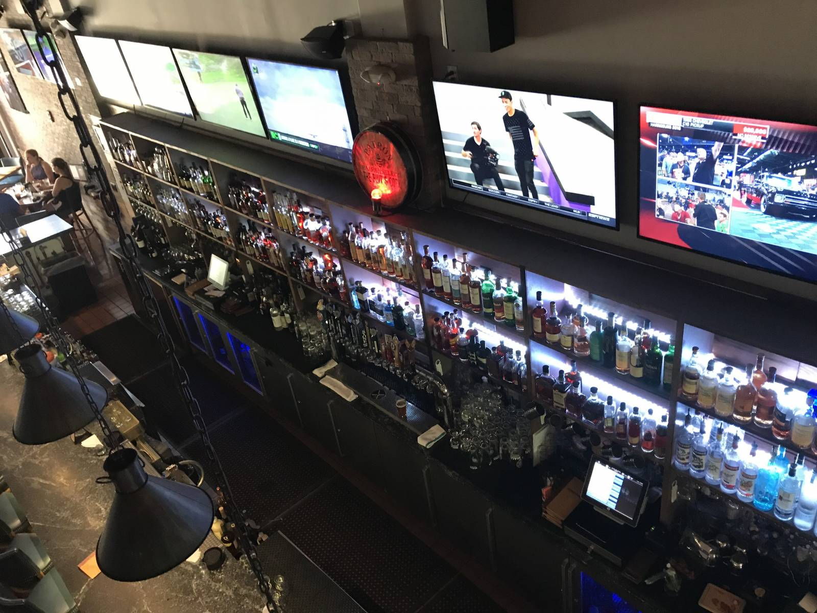 Multiple TVs So You Don't Miss Out on the Action