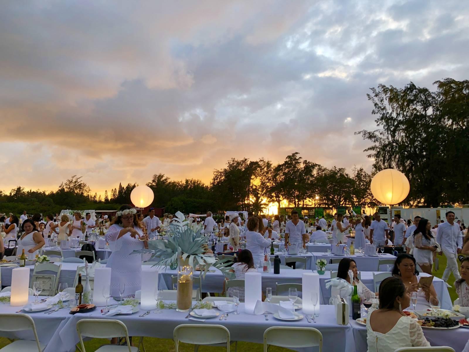 2018 Diner en Blanc Turtle Bay