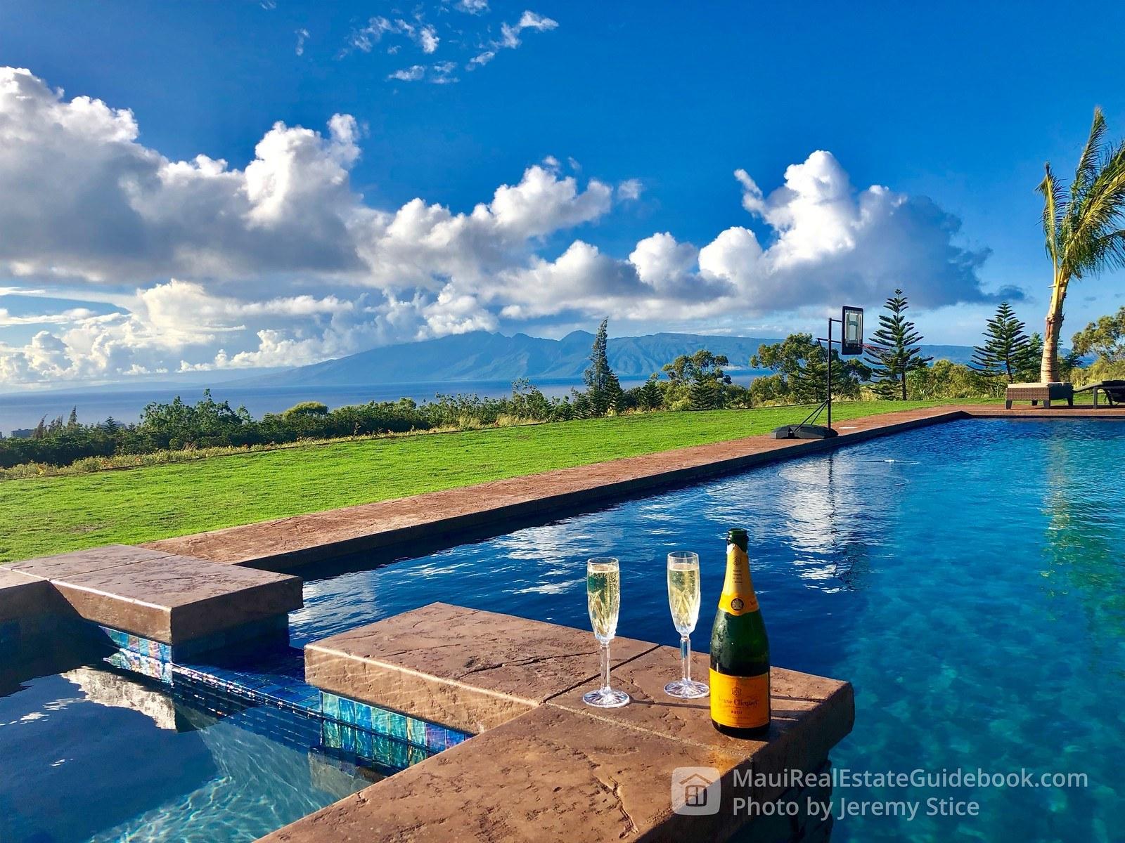Molokai and Champagne