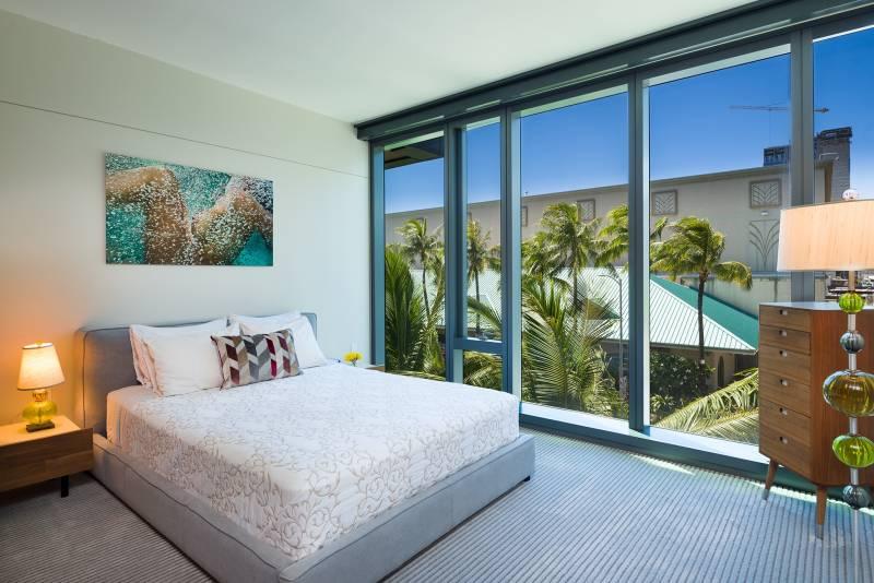 Anaha townhome bedroom