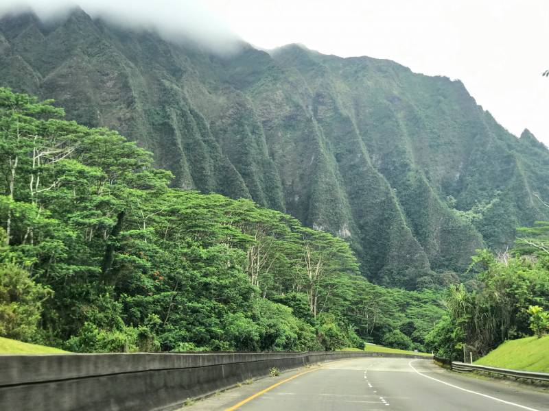 Ko'olau Mountains.