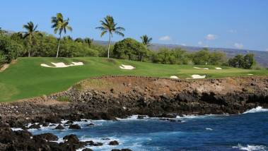 Big Island Hawaii ocean front resort golf course