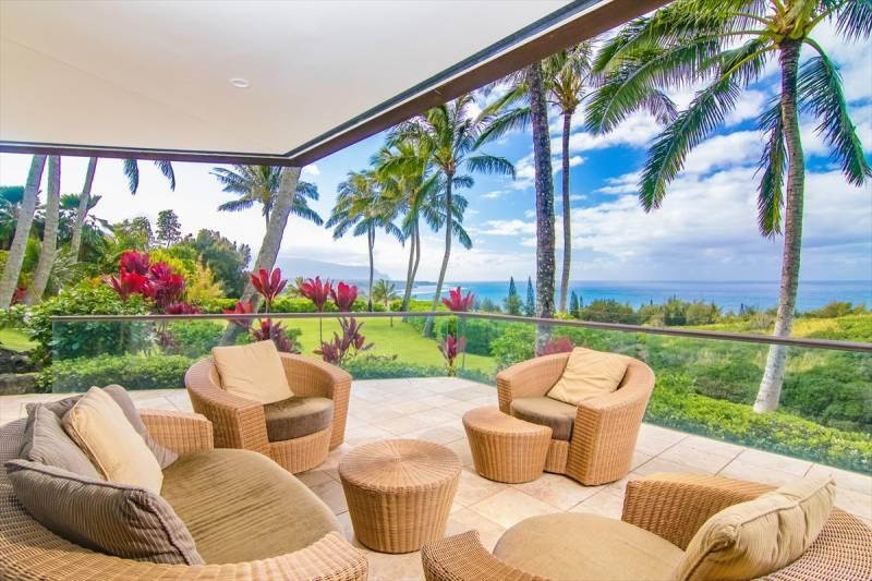 Pavilions, Seacliff, Kilauea, Kauai