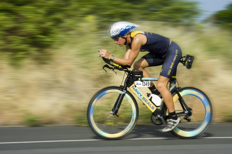 Cyclist at Ironman World Championship
