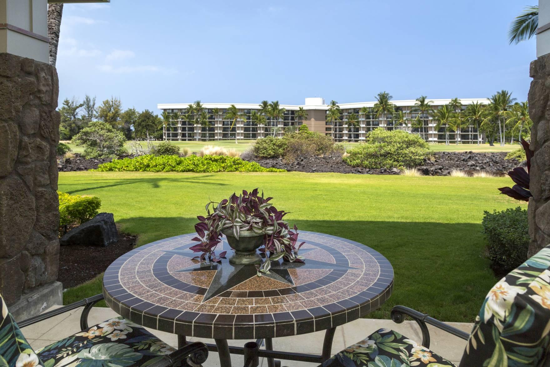 Halii Kai 4C golf course view