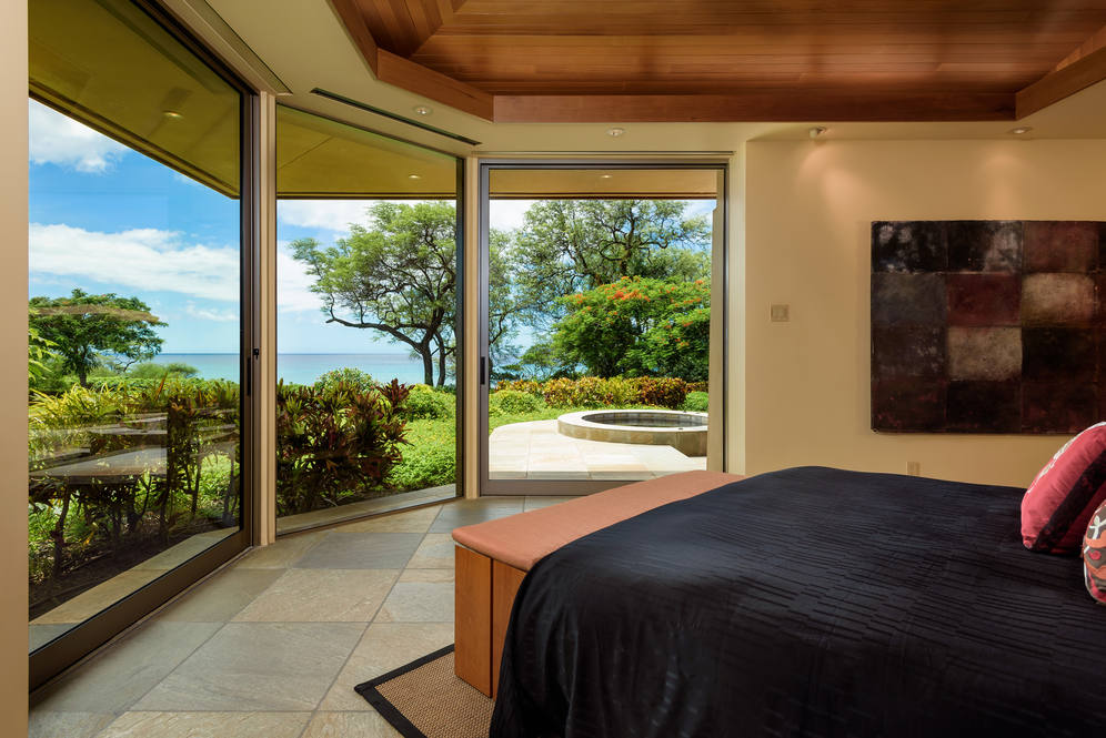 Master Bedroom with a Stunning View