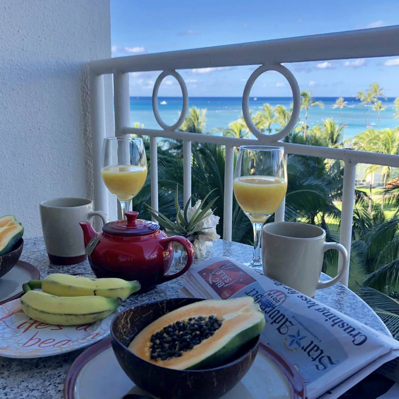 Breakfast Waikiki Shore