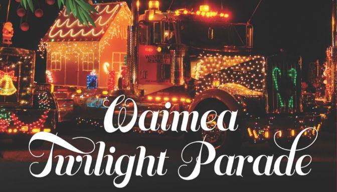 Waimea Christmas Parade 2020 Waimea Christmas Parade is a Cherished Holiday Island Tradition