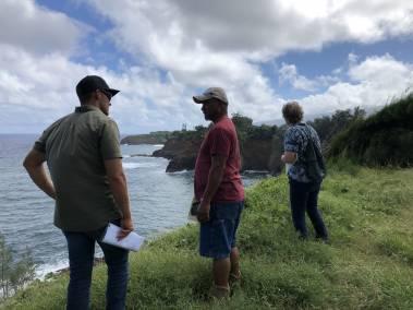 State Legacy Land visit to Kapanaia