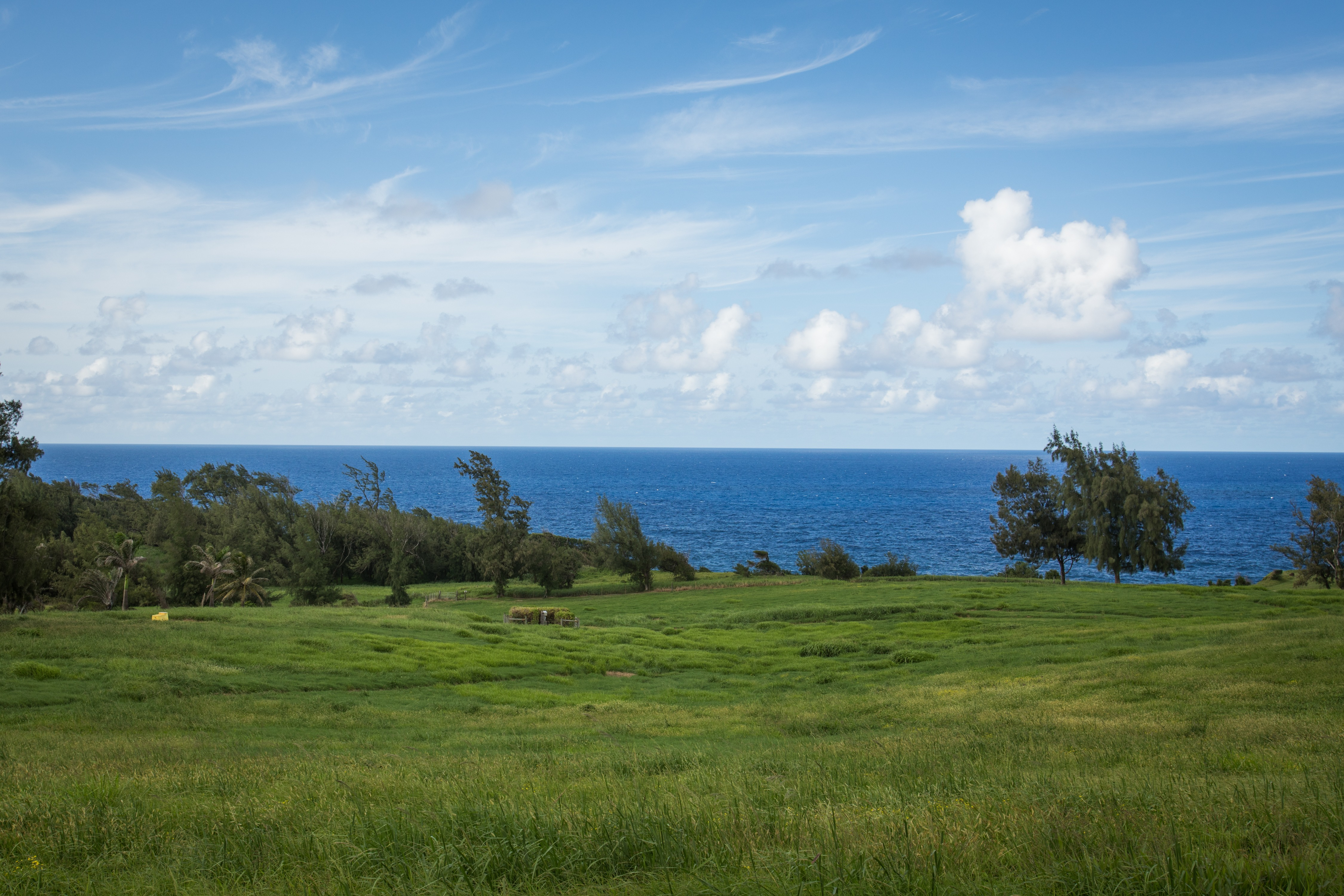 Building site on oceanfront land for sale