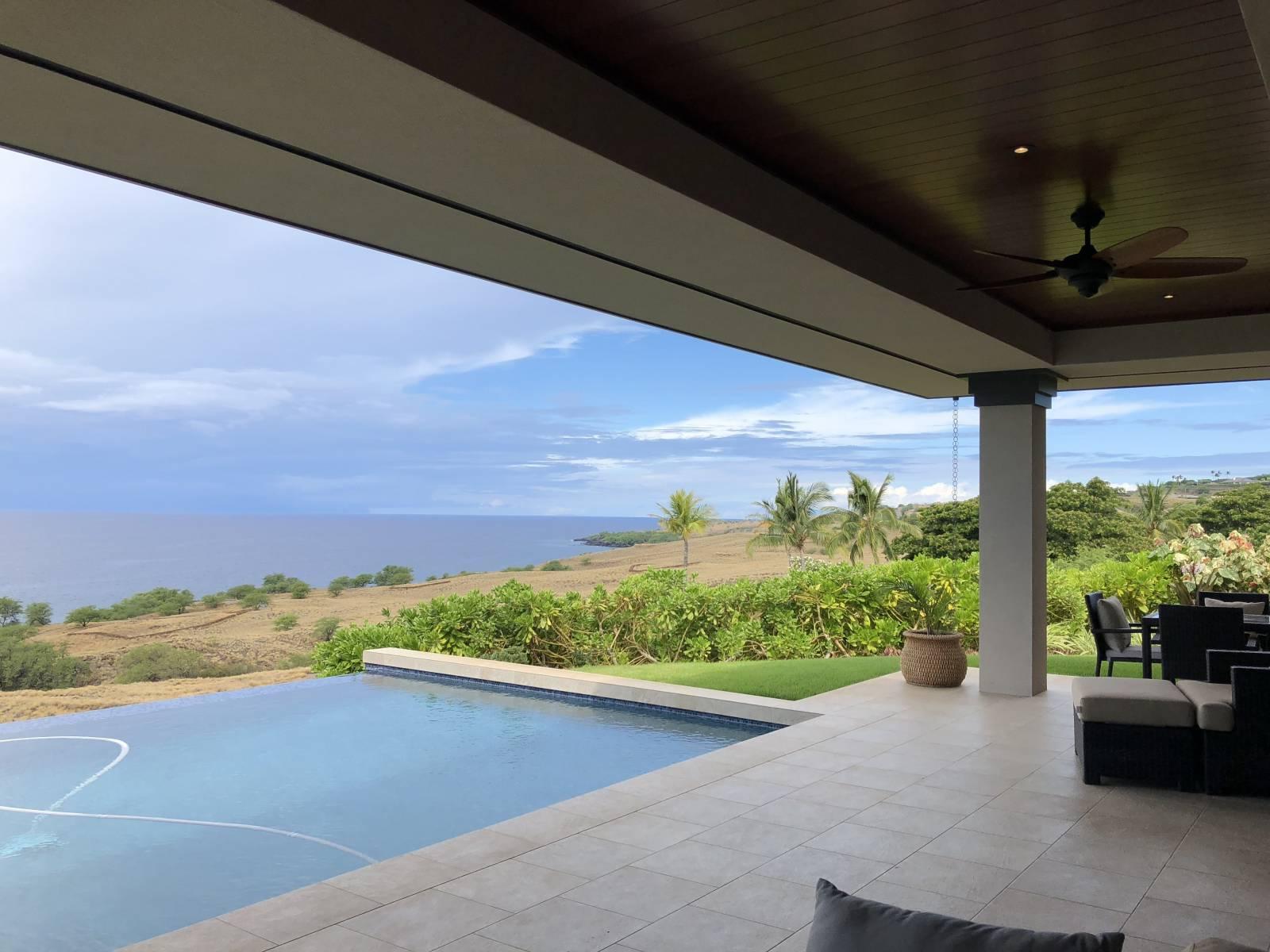 Kohala Waterfront home for sale views