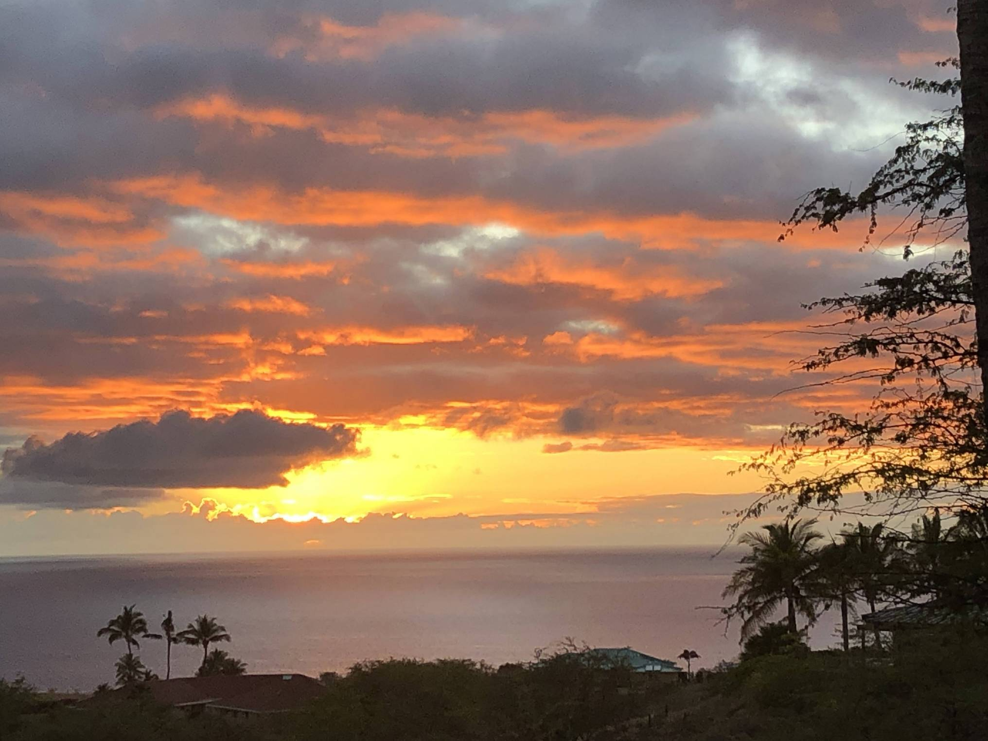 Kohala Ranch ocean sunset views