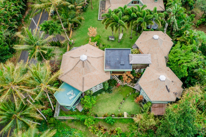 Aerial View of Balinese Property