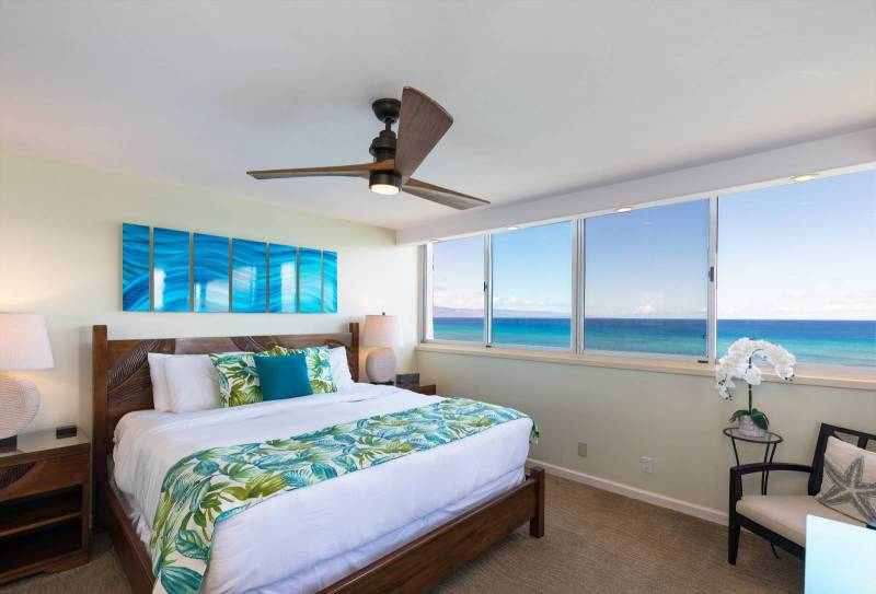 Stunning Direct Oceanfront Royal Kahana Condo Offered by