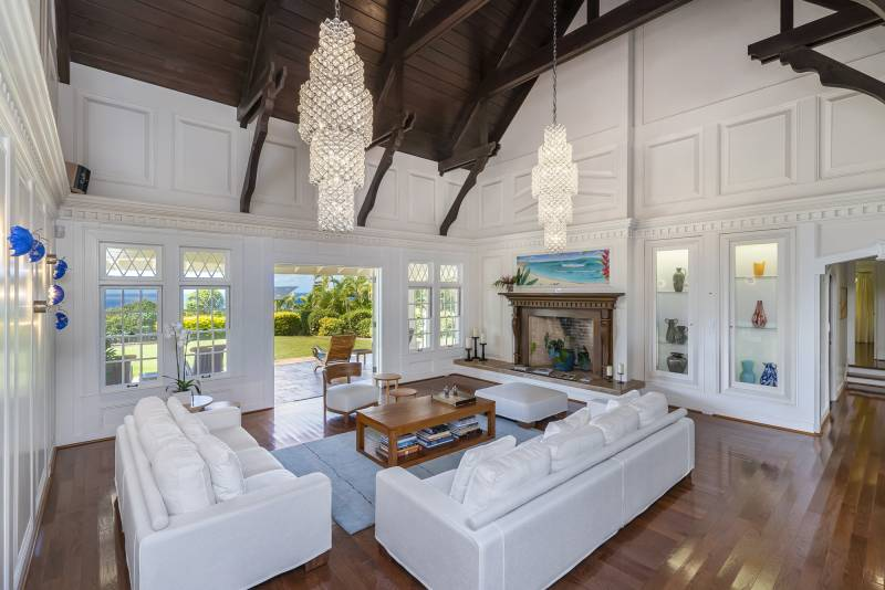 Interior remodel Sullivan Estate Oahu