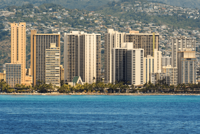 """""""View of Waikiki"""" by jdnx is licensed under CC by 2.0"""