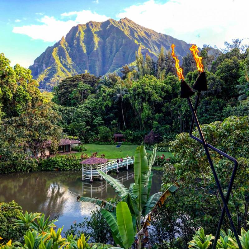Beautiful Mountain View in Kaneohe