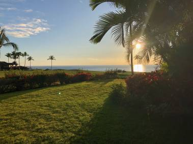 View from Mauna Lani Point listing