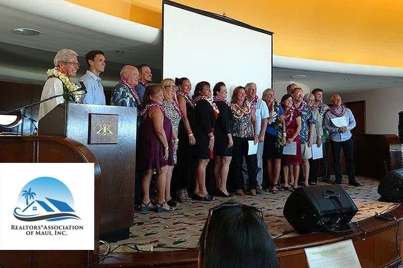 DAVE FUTCH Being sworn in as a Board Director for the Realtors Association of Maui