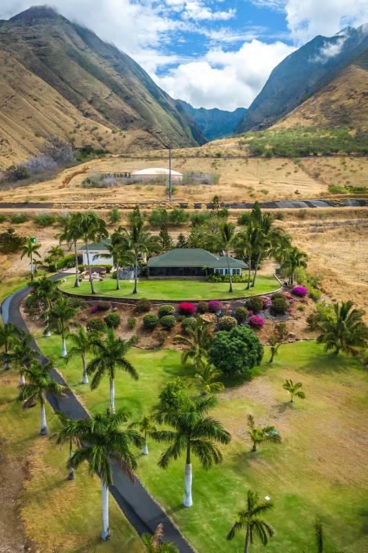 80 Kalai Place and West Maui Mountains