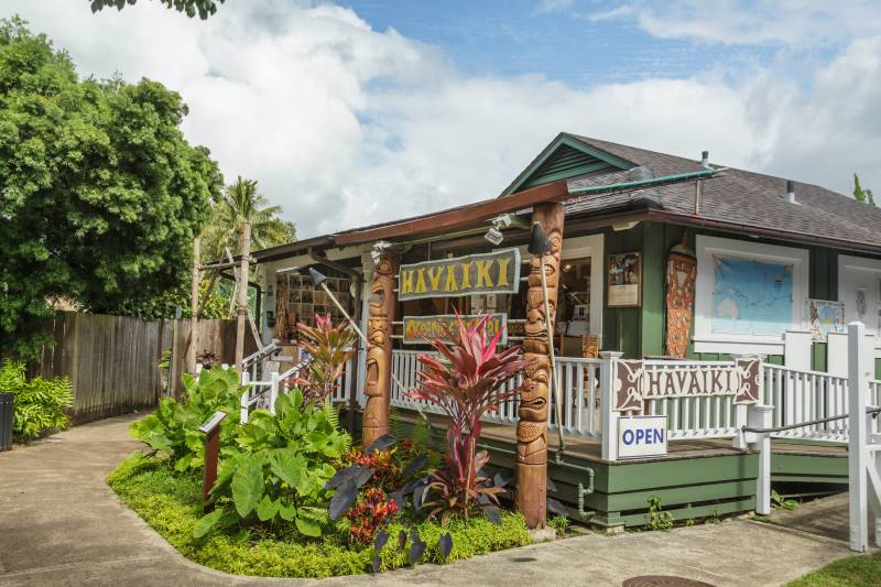 Havaiki Tribal and Oceanic Art in Hanalei