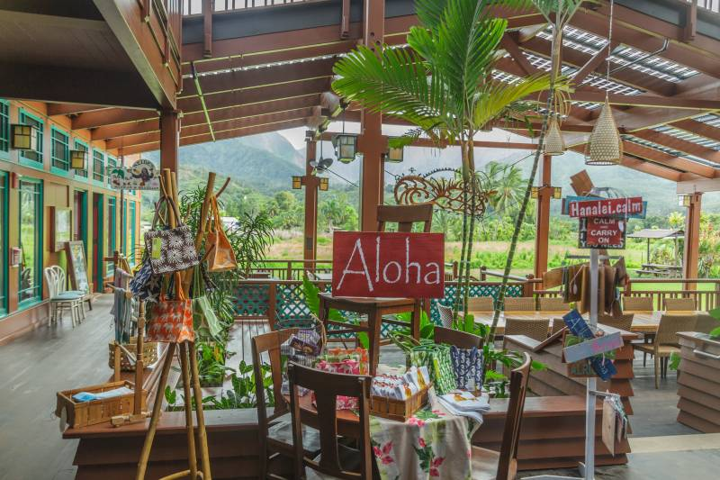 Yellowfish Trading Company in Hanalei
