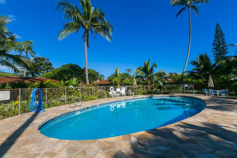 Mokuleia Beach Colony 24A Pool