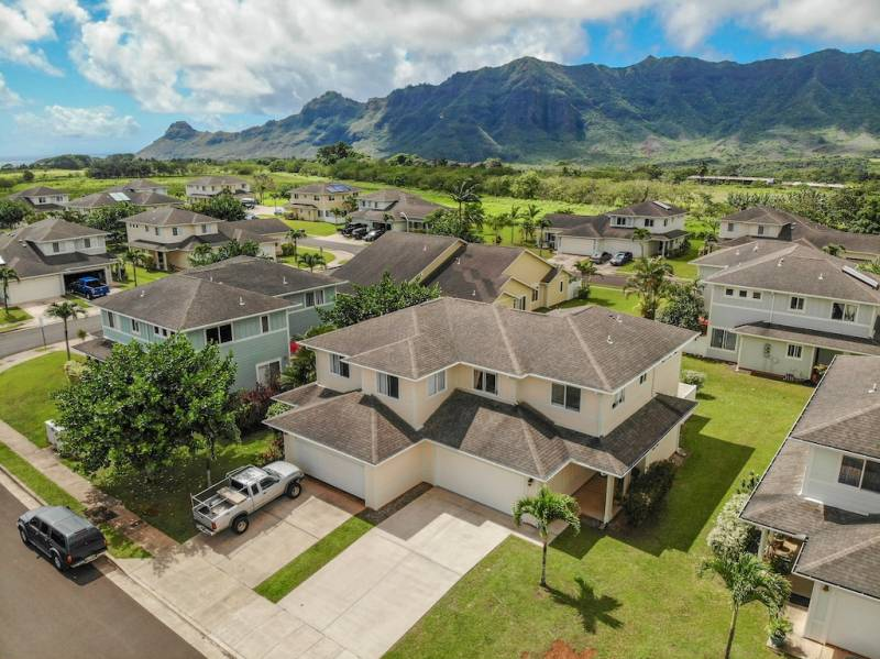 Villas at Puali Drone Shot
